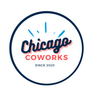 Coworking and Offices in Chicago. Chicago Coworks logo